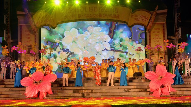Cherry blossom festival opens in Quang Ninh