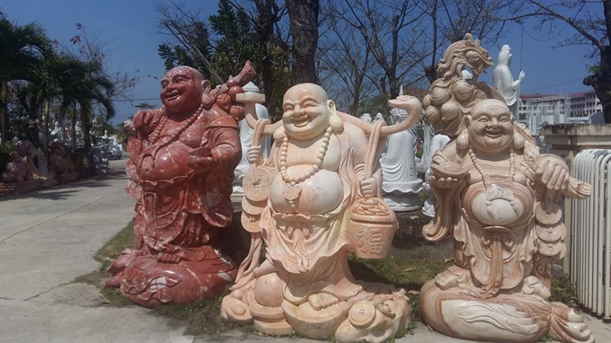 Villagers preserve stone carving craft, entertainment events, entertainment news, entertainment activities, what's on, Vietnam culture, Vietnam tradition, vn news, Vietnam beauty, news Vietnam, Vietnam news, Vietnam net news, vietnamnet news, vietnamnet b
