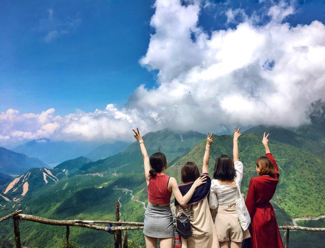 Top 6 check-in points for young travelers visiting Sapa during March, travel news, Vietnam guide, Vietnam airlines, Vietnam tour, tour Vietnam, Hanoi, ho chi minh city, Saigon, travelling to Vietnam, Vietnam travelling, Vietnam travel, vn news