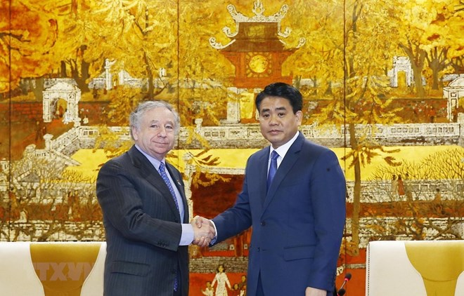 Hanoi leader thanks FIA President for helping with F1 race,