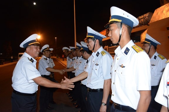 Vietnamese naval ship leaves for LIMA 2019, Myanmar visit