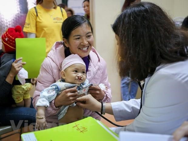 Korean doctors offer free cleft palate surgery for Vietnamese children