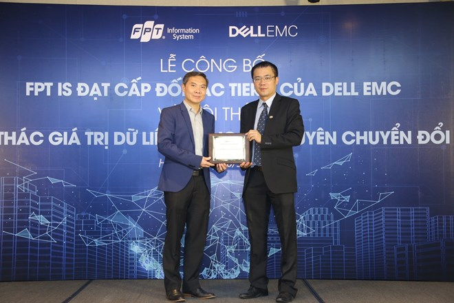 Vietnamese software company becomes Dell EMC's highest-level partner, IT news, sci-tech news, vietnamnet bridge, english news, Vietnam news, news Vietnam, vietnamnet news, Vietnam net news, Vietnam latest news, Vietnam breaking news, vn news
