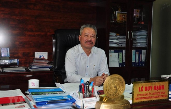 Chairman of Quang Ninh thermal power company arrested,