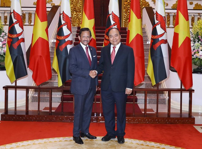 PM Phuc stresses significance of Vietnam-Brunei comprehensive partnership, Government news, Vietnam breaking news, politic news, vietnamnet bridge, english news, Vietnam news, news Vietnam, vietnamnet news, Vietnam net news, Vietnam latest news, vn news
