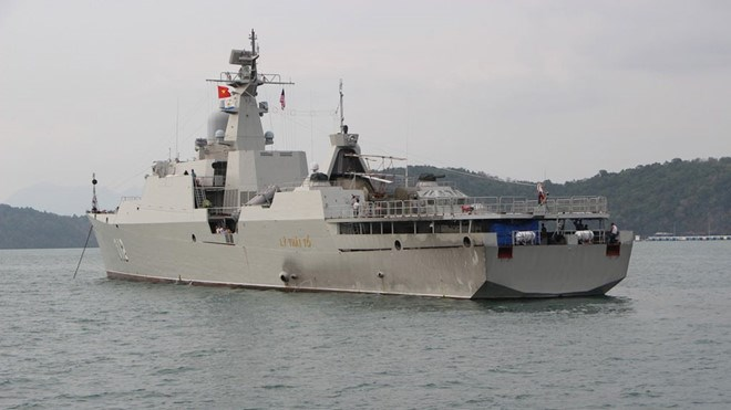 Vietnam's HQ 012-Ly Thai To joins fleet review at LIMA 2019, Government news, Vietnam breaking news, politic news, vietnamnet bridge, english news, Vietnam news, news Vietnam, vietnamnet news, Vietnam net news, Vietnam latest news, vn news