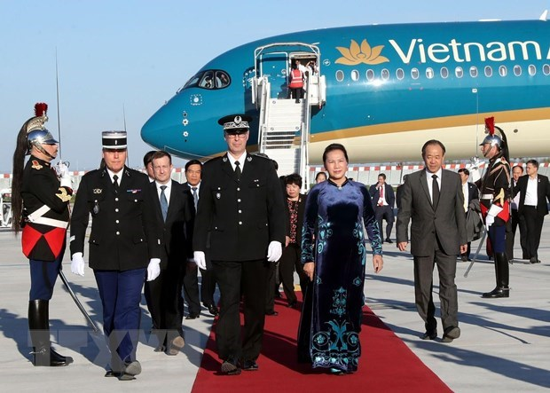 NA Chairwoman Nguyen Thi Kim Ngan begins official visit to France, Government news, Vietnam breaking news, politic news, vietnamnet bridge, english news, Vietnam news, news Vietnam, vietnamnet news, Vietnam net news, Vietnam latest news, vn news