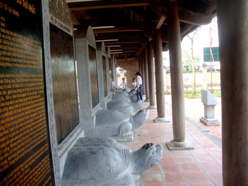 Mao Dien Temple of Literature – proof of Hai Duong's thirst for knowledge, entertainment events, entertainment news, entertainment activities, what's on, Vietnam culture, Vietnam tradition, vn news, Vietnam beauty, news Vietnam, Vietnam news, Vietnam net