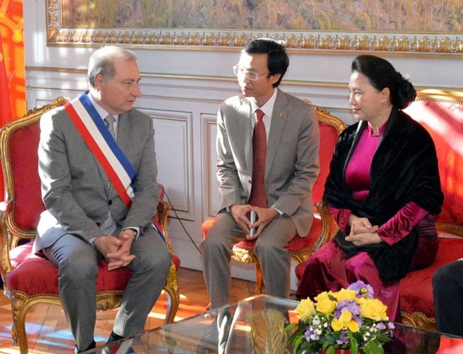 NA Chairwoman meets Toulouse Mayor, Government news, Vietnam breaking news, politic news, vietnamnet bridge, english news, Vietnam news, news Vietnam, vietnamnet news, Vietnam net news, Vietnam latest news, vn news