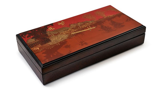 Vietnamese-style lacquer paintings, sell for high prices, Vietnam economy, Vietnamnet bridge, English news about Vietnam, Vietnam news, news about Vietnam, English news, Vietnamnet news, latest news on Vietnam, Vietnam