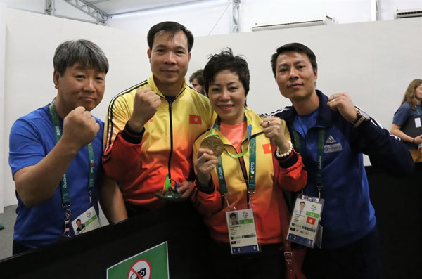 Viet Nam Shooting Federation, shooting coach Nguyen Thi Nhung, Vietnam economy, Vietnamnet bridge, English news about Vietnam, Vietnam news, news about Vietnam, English news, Vietnamnet news, latest news on Vietnam, Vietnam