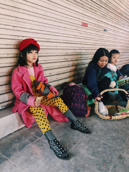A six-year-old fashion star, mixing clothes, Vietnam economy, Vietnamnet bridge, English news about Vietnam, Vietnam news, news about Vietnam, English news, Vietnamnet news, latest news on Vietnam, Vietnam