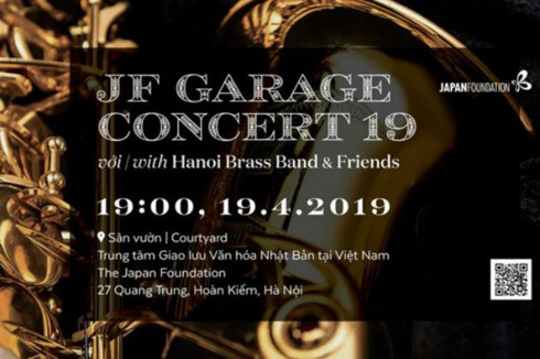 JF Garage Concert to be held in Hanoi