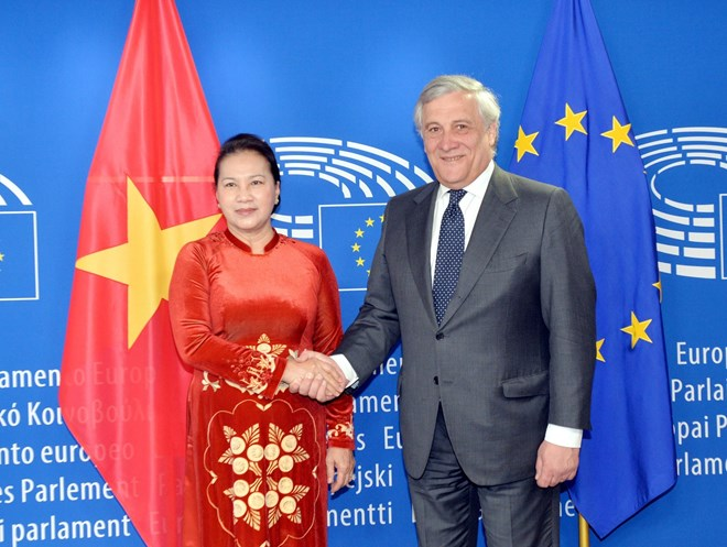 NA leader holds talks with EP President, Government news, Vietnam breaking news, politic news, vietnamnet bridge, english news, Vietnam news, news Vietnam, vietnamnet news, Vietnam net news, Vietnam latest news, vn news
