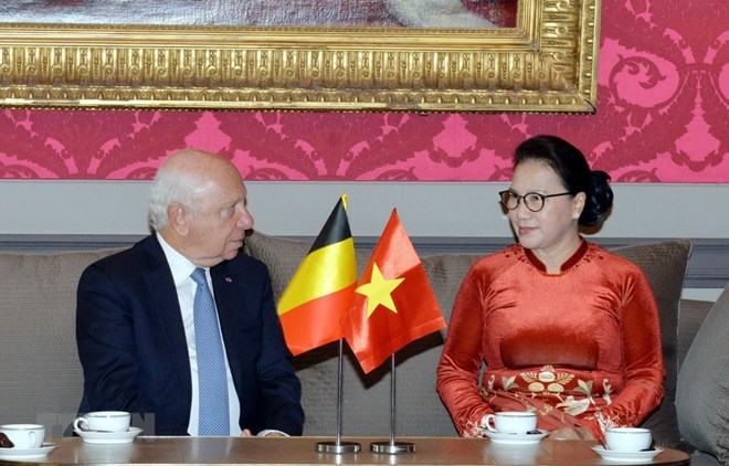 NA Chairwoman meets with Belgian Senate President, Government news, Vietnam breaking news, politic news, vietnamnet bridge, english news, Vietnam news, news Vietnam, vietnamnet news, Vietnam net news, Vietnam latest news, vn news