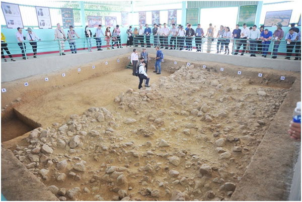 Gia Lai, evidence of early humans unearthed, Vietnam economy, Vietnamnet bridge, English news about Vietnam, Vietnam news, news about Vietnam, English news, Vietnamnet news, latest news on Vietnam, Vietnam