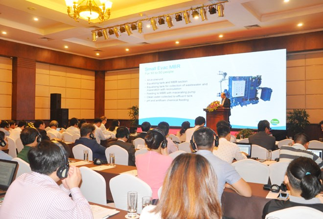 IUCN workshop on wastewater tech solutions for Ha Long Bay boats, Vietnam environment, climate change in Vietnam, Vietnam weather, Vietnam climate, pollution in Vietnam, environmental news, sci-tech news, vietnamnet bridge, english news, Vietnam news, new