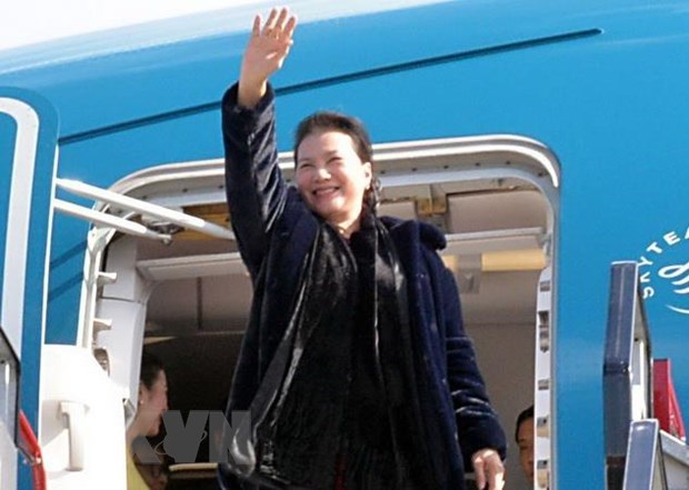 NA leader heads to Qatar for 140th IPU Assembly, Government news, Vietnam breaking news, politic news, vietnamnet bridge, english news, Vietnam news, news Vietnam, vietnamnet news, Vietnam net news, Vietnam latest news, vn news