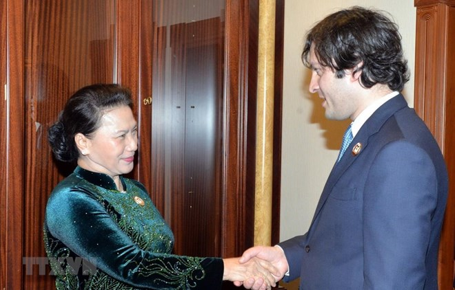NA Chairwoman: Vietnam wants stronger ties with Georgia, Government news, Vietnam breaking news, politic news, vietnamnet bridge, english news, Vietnam news, news Vietnam, vietnamnet news, Vietnam net news, Vietnam latest news, vn news