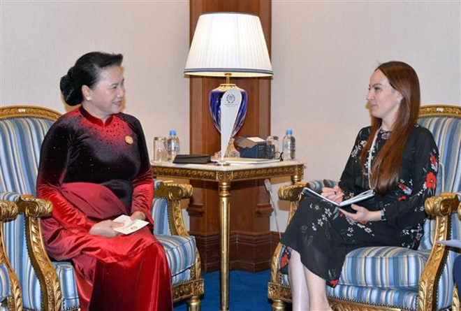 NA Chairwoman meets IPU leader in Doha, Government news, Vietnam breaking news, politic news, vietnamnet bridge, english news, Vietnam news, news Vietnam, vietnamnet news, Vietnam net news, Vietnam latest news, vn news