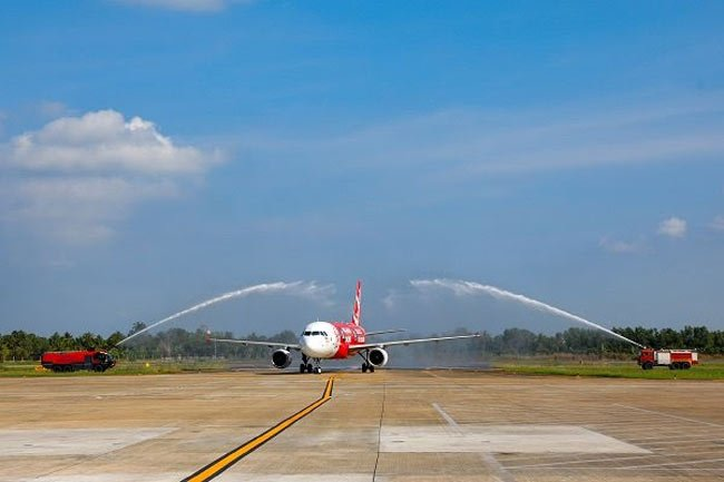 First international air route launched in Can Tho