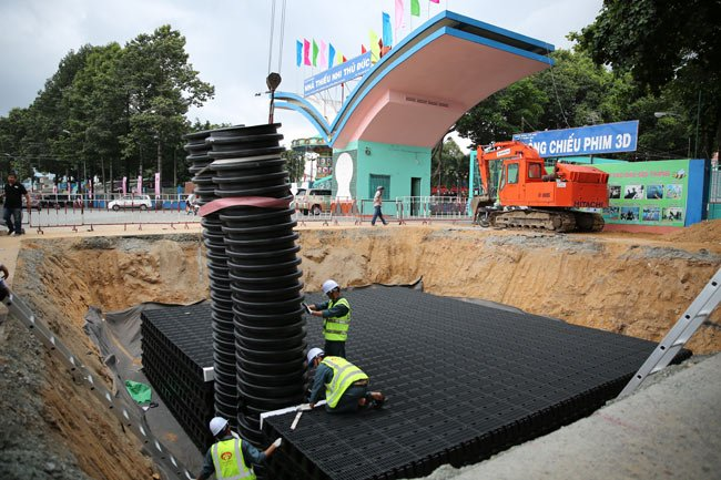More underground reservoirs proposed in HCMC