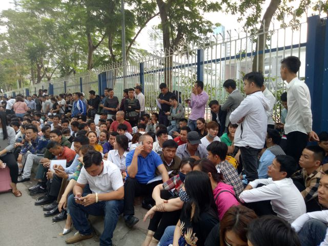 Thousands line up to for multi-entry visa to South Kore, social news, vietnamnet bridge, english news, Vietnam news, news Vietnam, vietnamnet news, Vietnam net news, Vietnam latest news, vn news, Vietnam breaking news