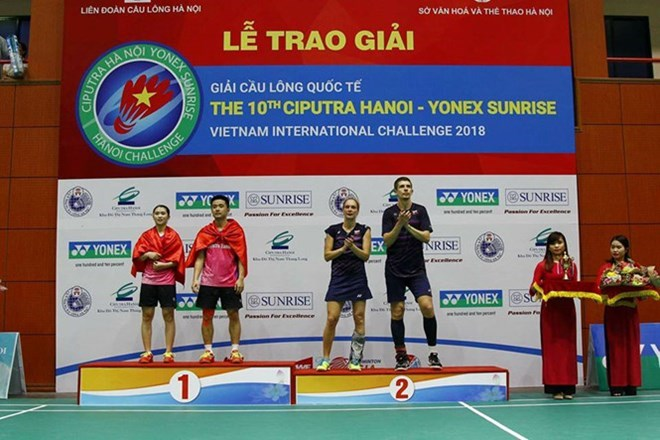 Yonex Sunrise VN International Challenge kicks off, Sports news, football, Vietnam sports, vietnamnet bridge, english news, Vietnam news, news Vietnam, vietnamnet news, Vietnam net news, Vietnam latest news, vn news, Vietnam breaking news