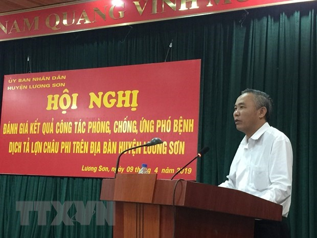 Hoa Binh province declares free from African swine fever
